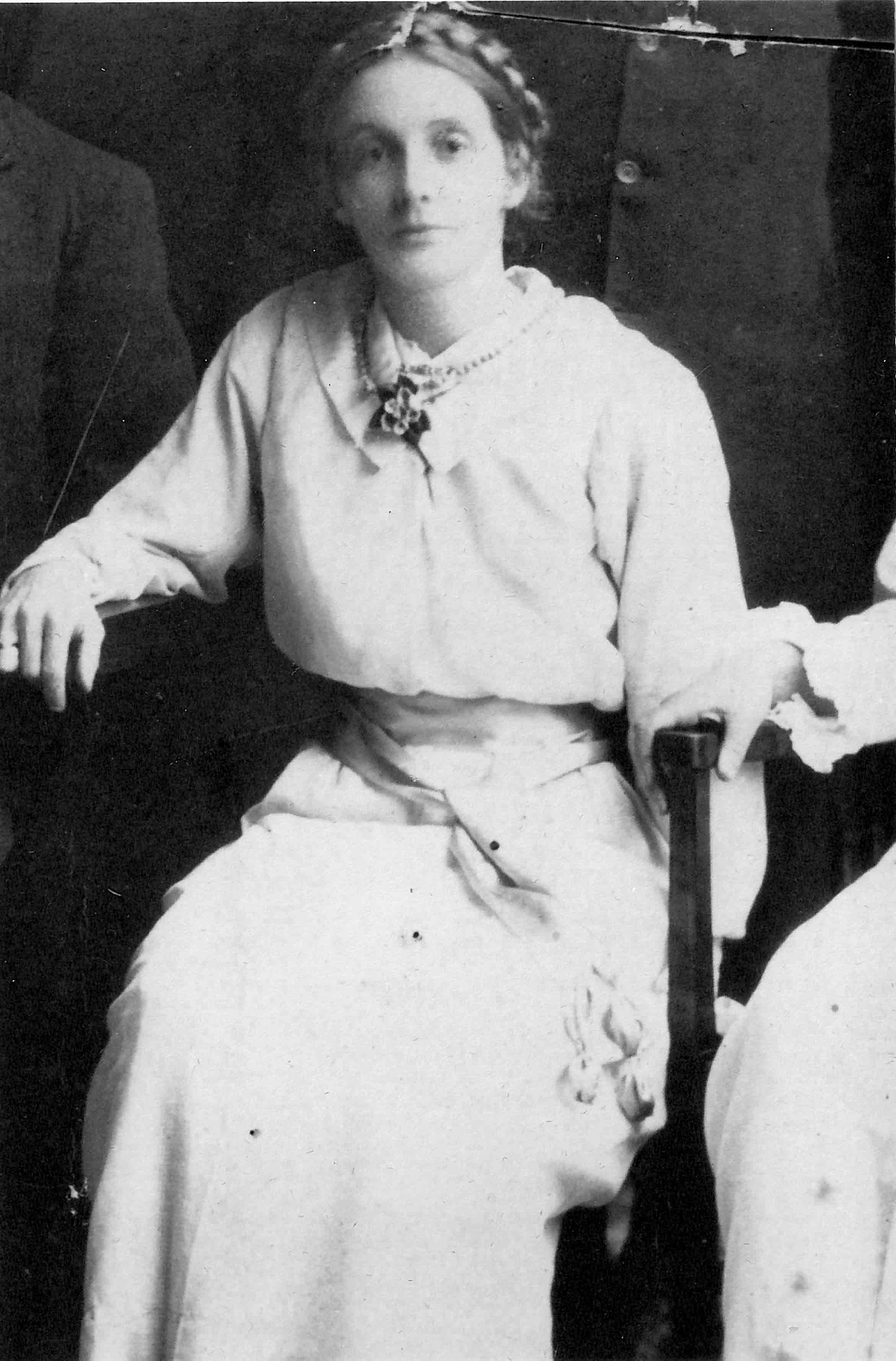 Conrad's maternal grandmother, Lily Beer